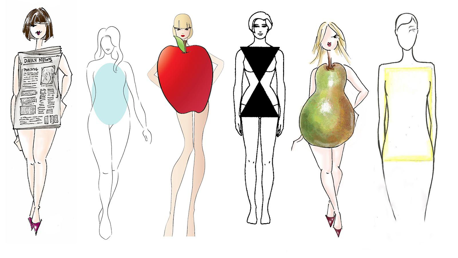 beauty uniforms for body shapes