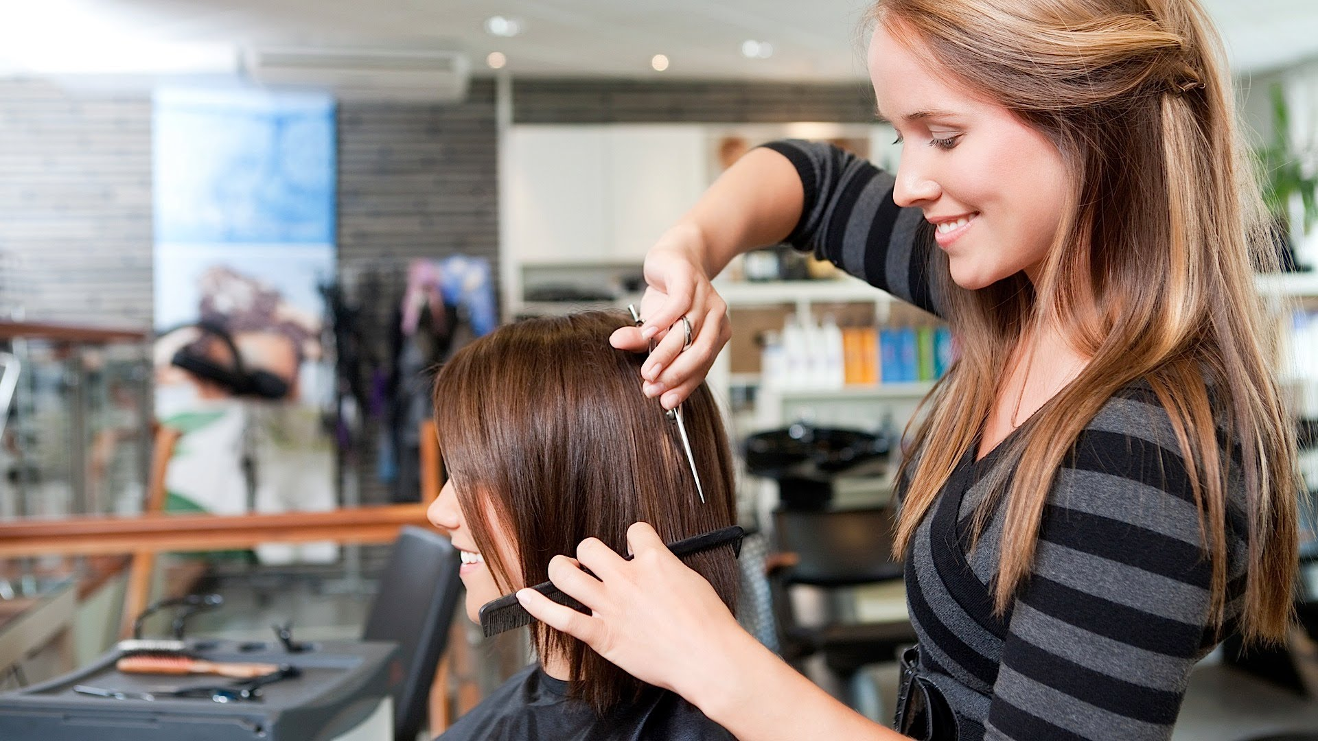 how to set up beauty salon at home